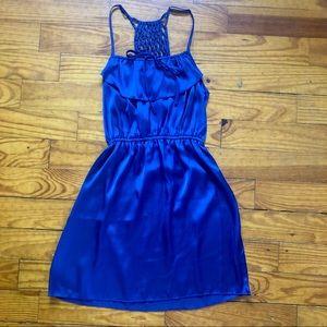 Deep Blue Xhilaration Dress